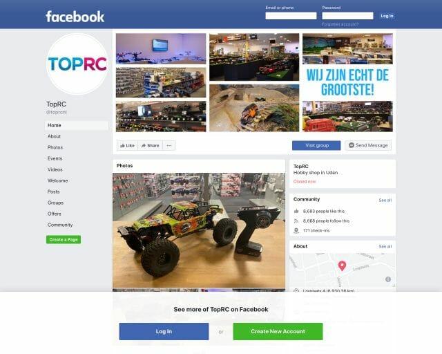 facebook toprc