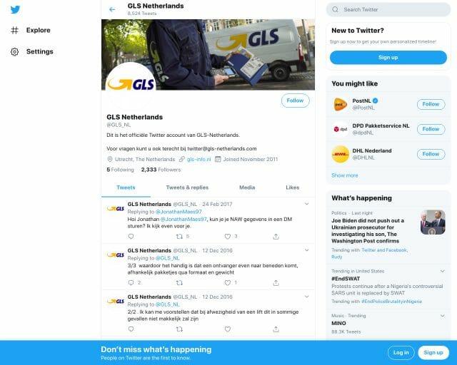 GLS Twitter