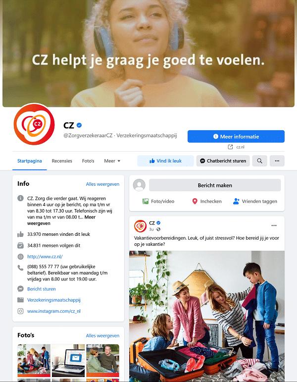 CZ facebook