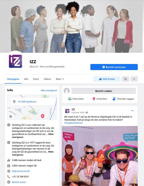 IZZ facebook