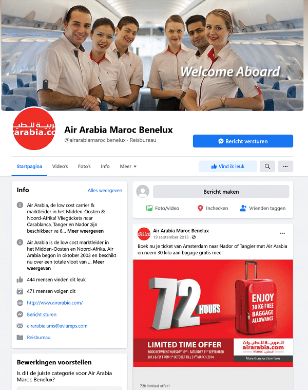 facebook air arabia