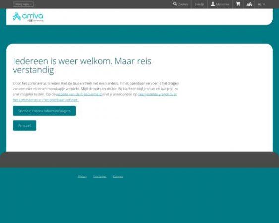 arriva.nl