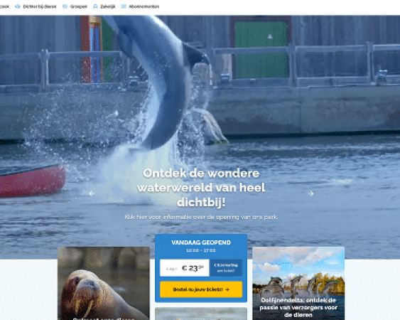 dolfinarium website