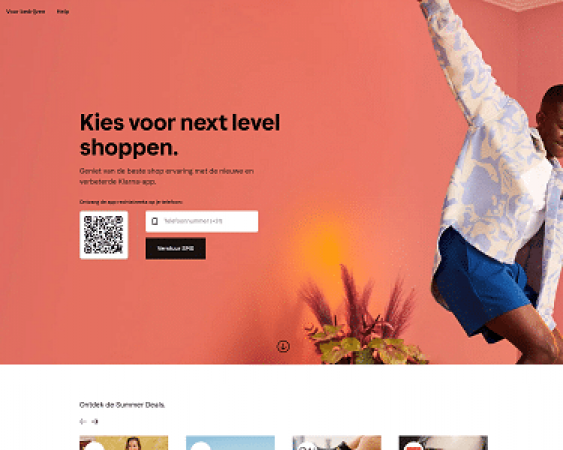 klarna website