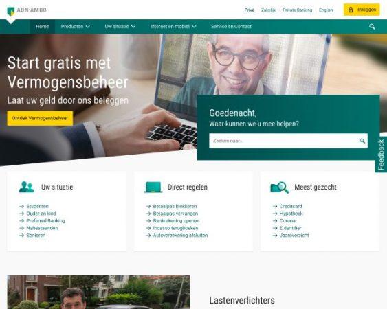 website abnamro.nl