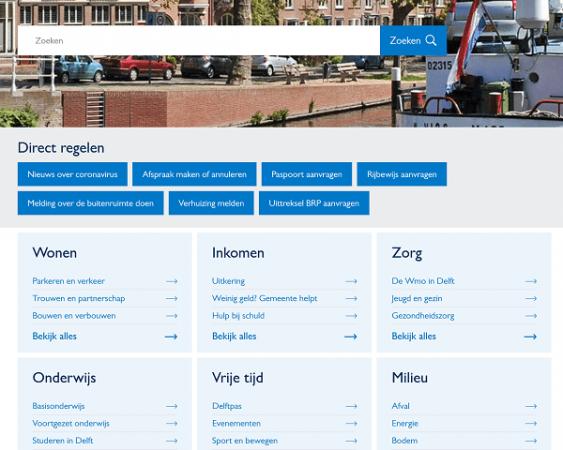 website delft.nl