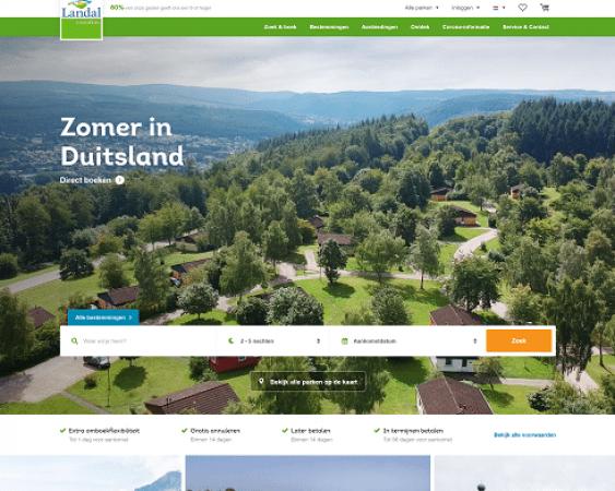 website landal.nl