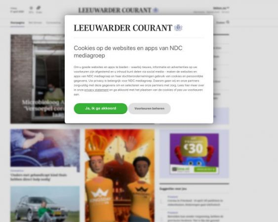 website lc.nl