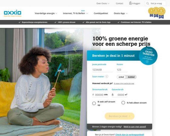 website oxxio.nl