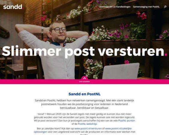 website sandd.nl