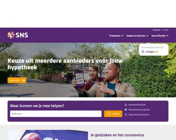 website snsbank.nl