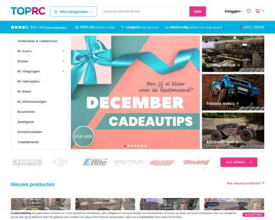 website toprc.nl