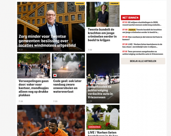 website tubantia.nl