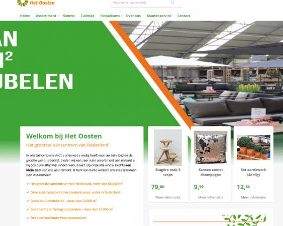 website tuincentrum het oosten